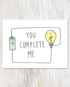 You Complete Me Greetings Card, Physics Electricity Blank Inside Love Card, Geek. Love Notes For Boyfriend, Drawings For Boyfriend, Diy Gifts For Boyfriend, Scrapbook Ideas For Boyfriend, Happy Birthday Husband, Birthday Cards For Boyfriend, Birthday Love, Diy Anniversary Cards For Boyfriend, Birthday Gifts