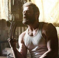 9 year 2 months with Wolverine Hq Marvel, Marvel Comic Universe, Marvel Dc Comics, Marvel Heroes, Wolverine Movie, Wolverine Art, Logan Wolverine, Hugh Jackman, Hugh Michael Jackman