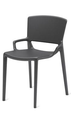 Polypropylene chair.