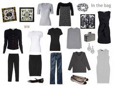 Simple travel wardrobe