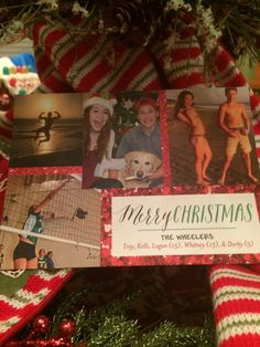 MERRY CHRISTMAS FROM MOMSERVATIONS! A virtual Christmas card from Momservations and the Holderness family.