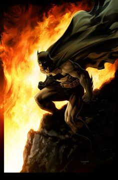 Batman Inferno - By Jim Lee