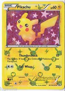 Pokemon Card Legendary Treasures uncommon Pikachu RC7/RC25 FREE COMB S&H