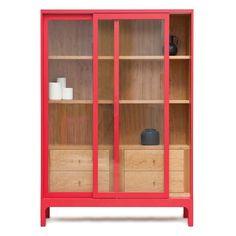 Pinch Design - Joyce Cabinet - Home Decorating Magazines Wood Furniture, Modern Furniture, Furniture Design, Furniture Storage, Luxury Furniture, Office Furniture, Glass Cabinet Doors, Glass Door, Diy Sofa