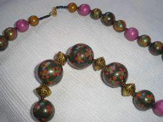 2007 collier perles Fimo