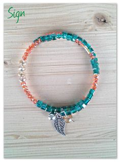 Memory wire bracelet - Bracciale Memory con cristalli