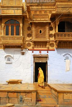 India, Architecture, People