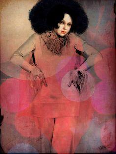 'Rhythm and beats' von Catrin Welz-Stein bei artflakes.com als Poster oder Kunstdruck