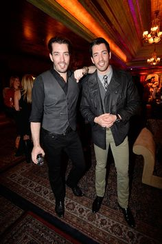 drew scott jonathan scott photos country music stars celebrate night at the big machine - How Tall Is Jonathan Scott