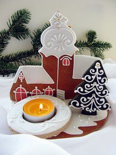 Birthday Candles, Baking, Christmas Ornaments, Holiday Decor, Home Decor, Decoration Home, Room Decor, Bakken, Christmas Jewelry