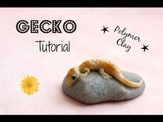 Gecko Tutorial ~ Polymer Clay Miniature! Charm or Figurine - YouTube