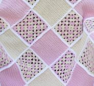 Ravelry: Bubblegirl Sweet Dreams Baby Blanket pattern by Lisa Charbonneau
