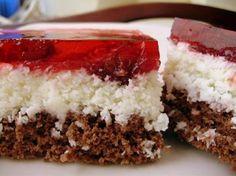 Ciasto+kokosowo-wiśniowe:+Bardzo+udane+połączenie+smaku+wiśni+i+kokosu