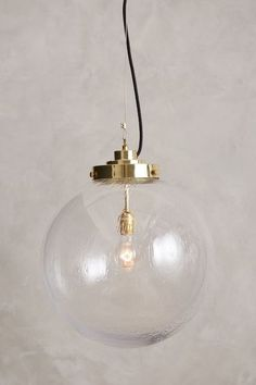 Large Globe Pendant Lamp - anthropologie.com kitchen island pendants