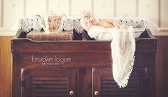Newborn shoot #babybrooke #Brookeloguephotography, Trisha Varney, photography, set designer, styled shoot, props, rustic fields,