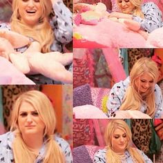 """Pillow Talk with our queen @meghan_trainor! Let me imagine that i would be chatting with queen @meghan_trainor. I think i would faint """