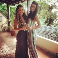 Love their style - Karena and Katrina #ToneItUp