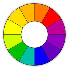 12 Spoke Color Wheel