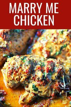 Chicken Parmesan Recipes, Baked Chicken Recipes, Recipes With 2 Chicken Breasts, Instantpot Chicken Recipes, Delicious Chicken Recipes, Chicken Pieces Recipes, Chicken Recipes For One, Different Chicken Recipes, Chicken Receipe