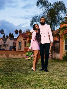 Nipsey Hussle and Lauren London: California Love - GQ Black Love Couples, Cute Couples Goals, Couple Goals, Dope Couples, Lesbian Couples, Cute Relationship Goals, Cute Relationships, Rihanna, Lauren London Nipsey Hussle