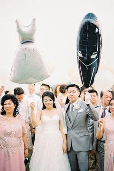 Wedding Day Wedding Photography Film Photography Holy Matrimony  Wedding Baloons Bride & Groom Gunawan & Melisa