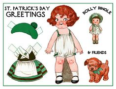 Dolly Dingle from skipalongdesignsmem I member this cutie paper doll