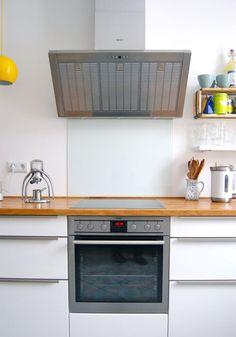 glas küchenrückwand spritzschutz küche glaswand | that's nice ... - Glas Küchenrückwand Fliesenspiegel
