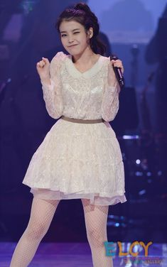 Picture of Lee Ji-eun Iu Fashion, Unique Fashion, Korean Fashion, Korean Beauty, Asian Beauty, K Pop, Vintage Street Fashion, Beauty Contest, Cute Korean Girl