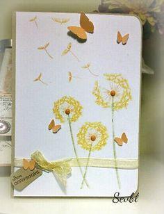 Challenge Carte Maniak - jolie carte printanière