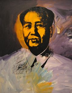Andy Warhol - Mao at Corcoran Art Gallery Washington DC by mbell1975, via Flickr