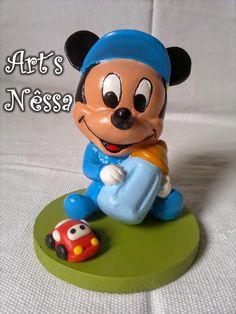 Art's Nêssa - Artesanato: Mickey Baby