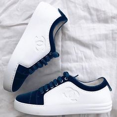 "6,659 Likes, 55 Comments - DESIGNER COMMUNITY (@designercommunity) on Instagram: ""Chanel Velvet sneakers #DESIGNERCOMMUNITY"""
