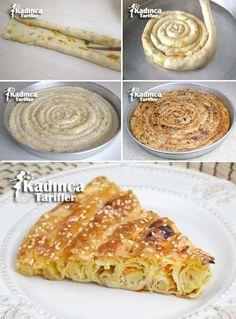 Çarşaf Böreği Tarifi Turkish Recipes, Ethnic Recipes, Great Recipes, Favorite Recipes, Arabic Food, Pastry Recipes, Perfect Food, Confectionery, Food To Make