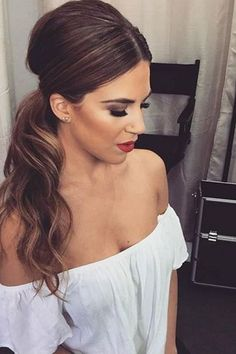 30 Elegant Ponytail Hairstyles Ideas 2018