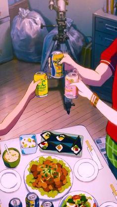 Wallpaper Aesthetic, Aesthetic Art, Aesthetic Anime, Anime Bento, Otaku Anime, Manga Anime, Anime Wallpaper Live, Anime Scenery Wallpaper, Anime Songs