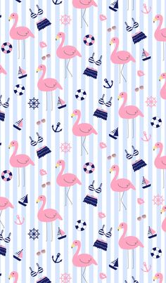 New wall paper iphone summer girly 43 Ideas Flamingo Wallpaper, Summer Wallpaper, Lock Screen Wallpaper, Pattern Wallpaper, Iphone Wallpaper, Anchor Wallpaper, Cute Backgrounds, Phone Backgrounds, Cute Wallpapers