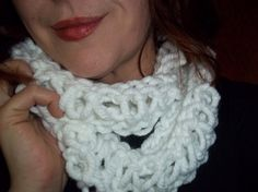 Hand Knit Thick and Soft Infinity Cowl Circular by starlightknits, $32.50