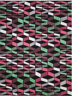 Dutch wax print fabric