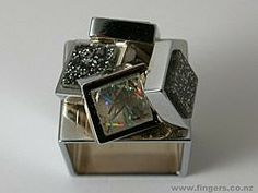 Contemporary New Zealand Jewellery by Jose Bribiesca Jewellery Box, Silver Jewellery, Jewelry Art, Jewelry Rings, New Zealand Jewellery, Lucky Charm, Contemporary Jewellery, Auckland, Fingers