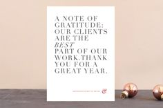 """""""Simply grateful"""" - Business Holiday Cards in Garnet by kelli hall. Corporate Holiday Cards, Business Holiday Cards, Grateful, Wedding Invitations, Greeting Cards, Design Inspiration, Place Card Holders, Garnet, Card Ideas"""
