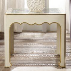 """Modern History Home French Modern End Table @Layla Grayce •26""""W x 26""""D x 23""""H"""