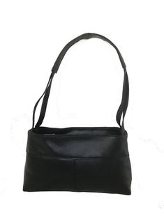 228b73e2b4 Green Leather Tote Bag with Black Handles   Carryall Shoulder Purse    Unique Unlined Shopper Handbag Yuritzy