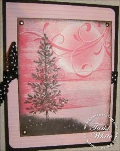 CARD: Lovely as a Tree WOW Card | Stampin Up Demonstrator - Tami White - Stamp With Tami Stampin Up blog