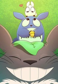 Totoro BrOTP by Javadoodle on DeviantArt Hayao Miyazaki, Studio Ghibli Art, Studio Ghibli Movies, Anime Totoro, Personajes Studio Ghibli, Girls Anime, Manga Girl, My Neighbor Totoro, Anime Artwork