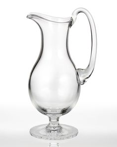 "Waterford Crystal ""Light"" Footed Pitcher - Horchow"