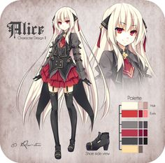 Alice Character Design II by Rini-tan