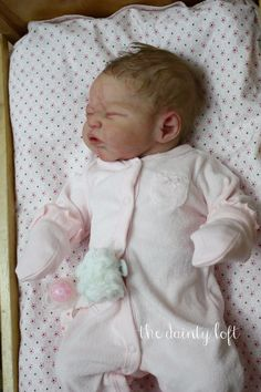 *Full Body SILICONE Baby Gracelynn* Reborn by KrisC ~The Dainty Loft~ in Dolls & Bears, Dolls, Art Dolls-OOAK, Babies | eBay