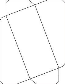 An Envelope Template To Be Used For X Photos  Downloads