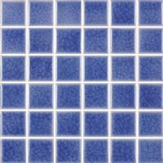 2X2 Ice Chill Blue Swimming Pool Mosaic