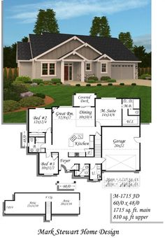 plan 59436nd french classic ranch home plan architectural design